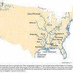 Navigable Inland Waterways | Global Climate Change Impacts In The Intended For Navigable Waters Of The United States Map