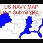 Navy Map Of Future Earth Changes In The United States   Youtube Inside New Navy Map Of The United States Coastline