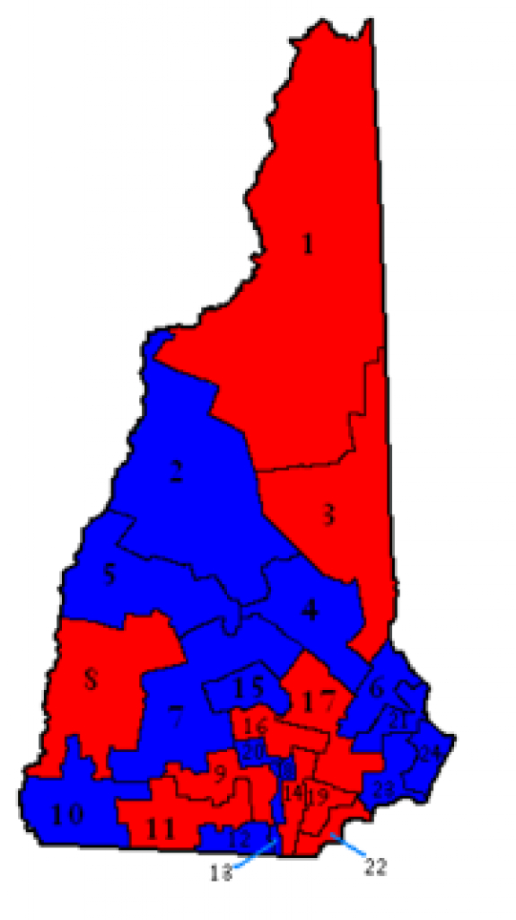 New Hampshire General Court - Wikipedia regarding Nh State Congressional Districts Map
