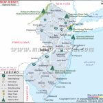 New Jersey National Parks Map Throughout Nj State Parks Map