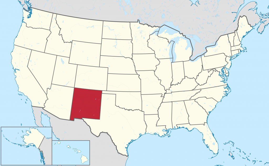 New Mexico - Wikipedia regarding New Mexico State Map Images