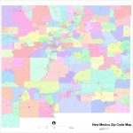 New Mexico Zip Code Maps – Free New Mexico Zip Code Maps within New Mexico State Map Pdf