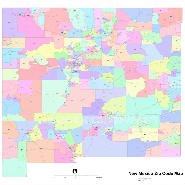 New Mexico State Map Pdf