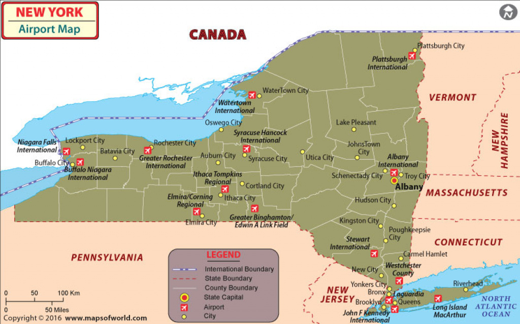 New York Airports Map, Airports In New York throughout New York State Airports Map