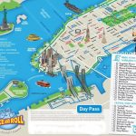 New York City Bike And Roll Map   New York City Vacations Inc., New Intended For New York State Landmarks Map