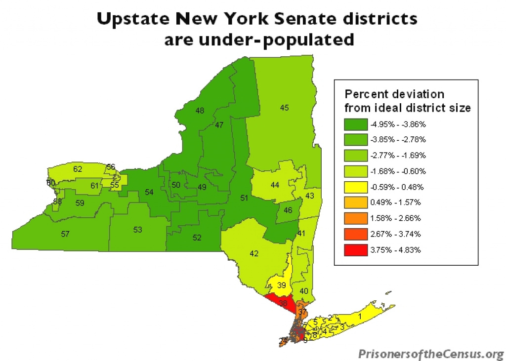 New York Senate District 34 | Prison Gerrymandering Project regarding New York State Senate District Map