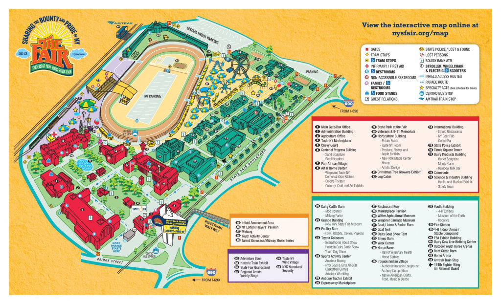 New York State Fair Map | This Is My New York | Pinterest | New York for New York State Fairgrounds Map
