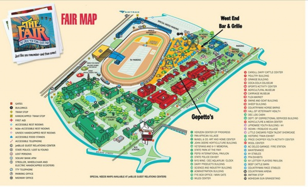 New York State Fairgrounds Map - New York State Fairgrounds Syracuse inside New York State Fairgrounds Map