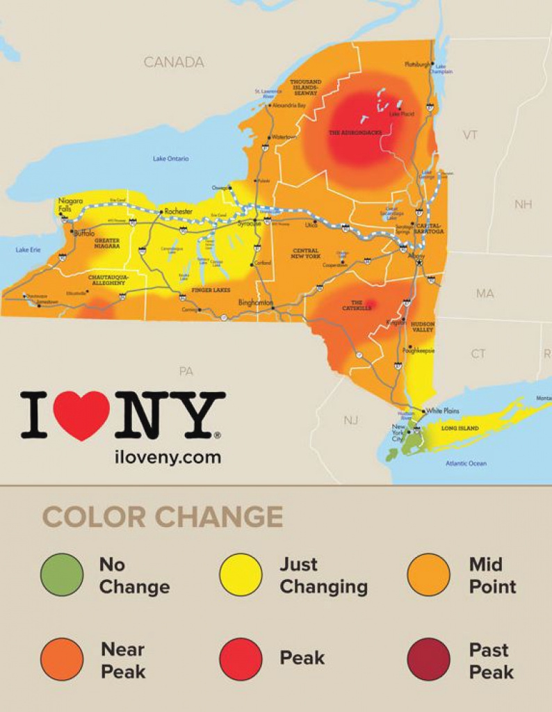 New York State Fall Foliage Report For Week Of Oct. 5 | Local News regarding New York State Foliage Map