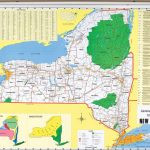 New York State Political Map Within New York State Parks Map