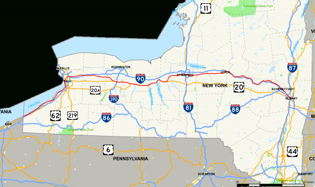 New York State Route 5 - Wikipedia with New York State Highway Map