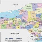 New York State Tourism Maps Awesome Map New York State Showing Pertaining To New York State Map With Cities And Towns