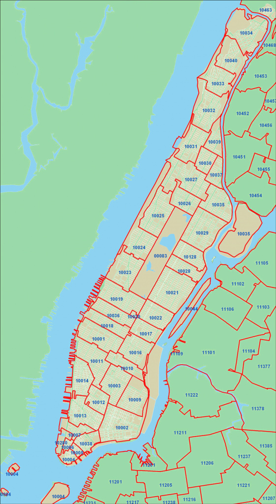 New York State Zip Code Map