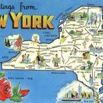 New York Tourist Map Scenic, Ny In New York State Tourism Map