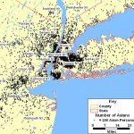 New York's Asians Pertaining To New York Tri State Area Map