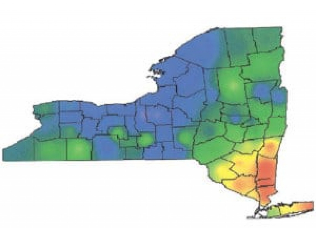 News: Ask Gov. Cuomo To Pass Ny's Lyme Bill with Lyme Disease New York State Map