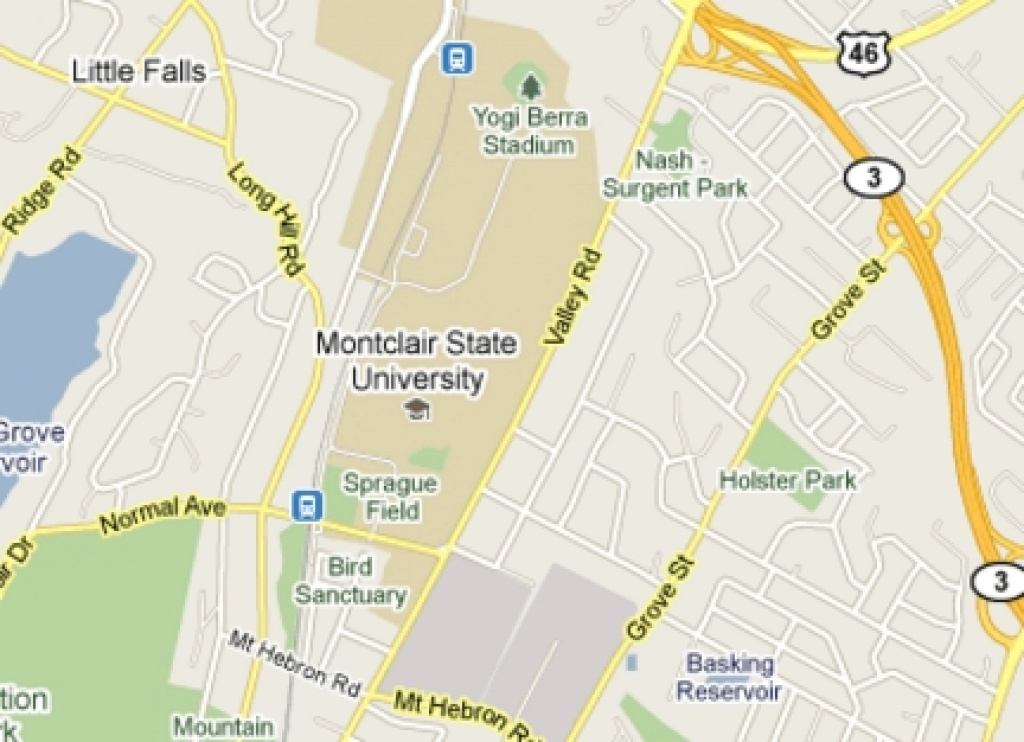 Nine Years Later, Montclair State Neighbors Complain About Parking with Montclair State University Parking Map