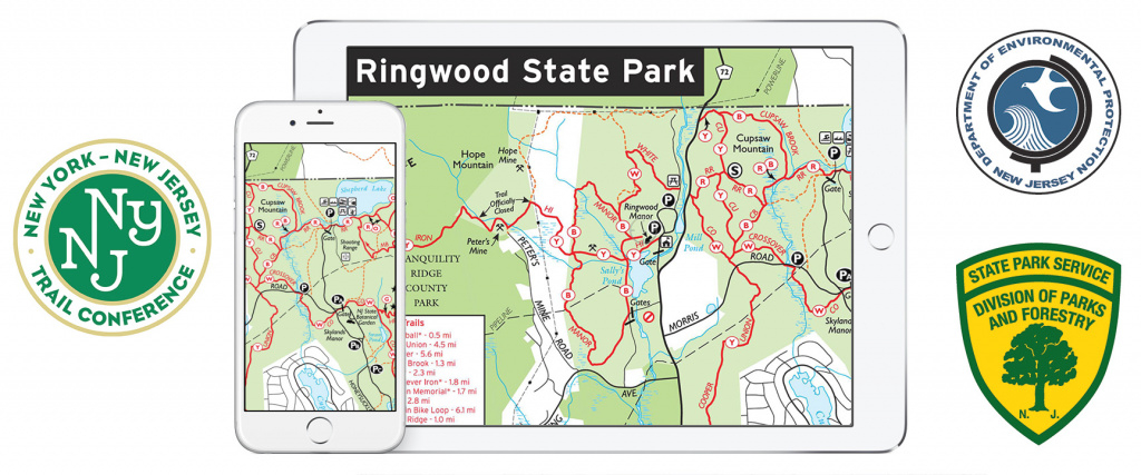 Nj State Park Maps On Avenza's Pdf Maps App - Qr | New York-New throughout Nj State Parks Map
