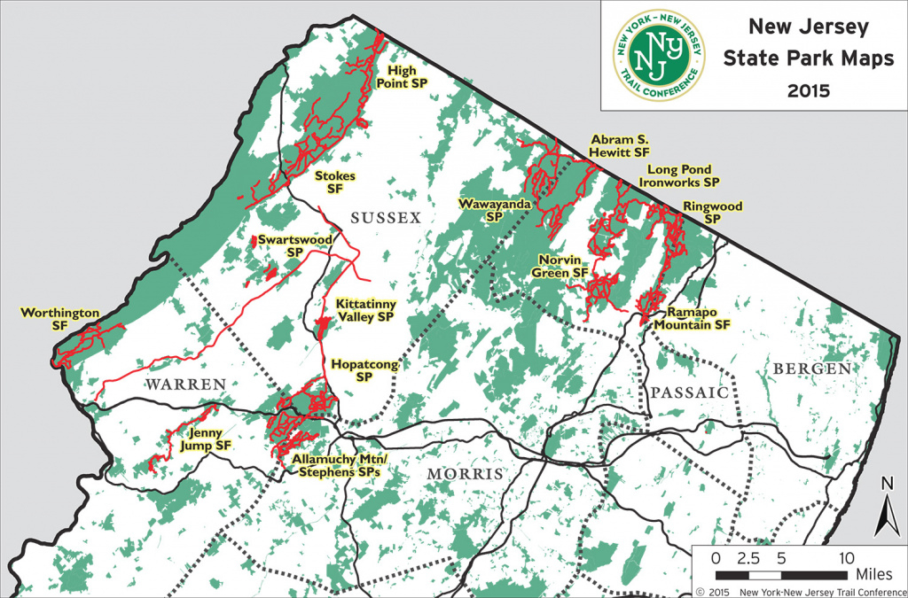 Nj State Park Maps | Trail Conference with regard to New York State Parks Map