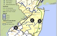 Nj State Police Patrol Areas Troop B – The Radioreference Forums intended for Pa State Police Barracks Map