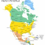 North America Map With Capitals   Template | Geo Map — United States With Dominican Republic Map United States