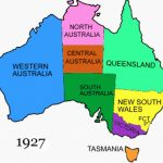 North Australia   Wikipedia Throughout Australian States And Territories Map