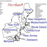 North East Region States And Capitals | Northeast Region States And Inside Northeast Region States And Capitals Map
