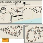 North Higgins State Parkmaps & Area Guide   Shoreline Visitors Guide Within South Higgins Lake State Park Map