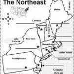 Northeastern Us State Capitals To Label | 50 States | Pinterest Within Northeast States And Capitals Map