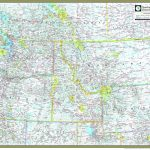 Northwestern United States Atlas Wall Map   Maps Within Map Of Northwest United States And Canada