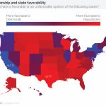 Not All States Are Red Or Blue: In Search Of The Purple States | Yougov With Regard To Red State Blue State Map