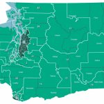 November 6, 2018 General   Legislative Intended For Washington State House Of Representatives District Map