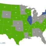 Nursing Compact States Map & Details | Travelnursing Throughout Compact State Nursing Map
