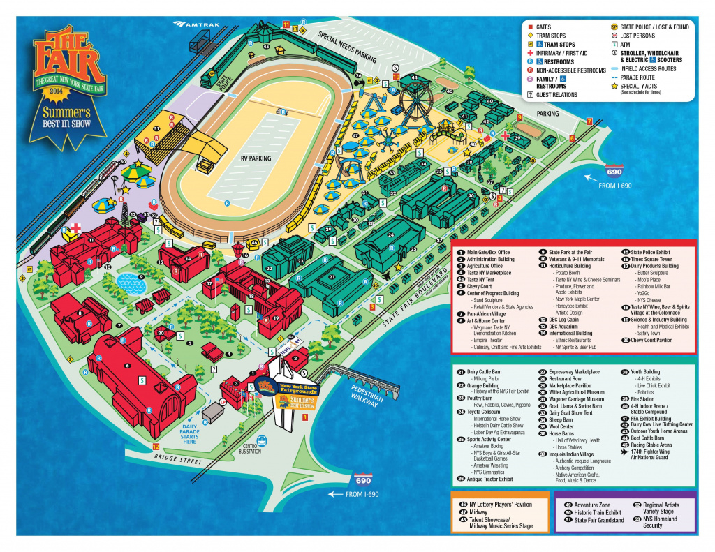 Nys Fair Map | New York State | Pinterest inside New York State Fairgrounds Map