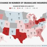 Obamacare 2017 Insurer Exits From States Map   Business Insider Within States With Exchanges Map