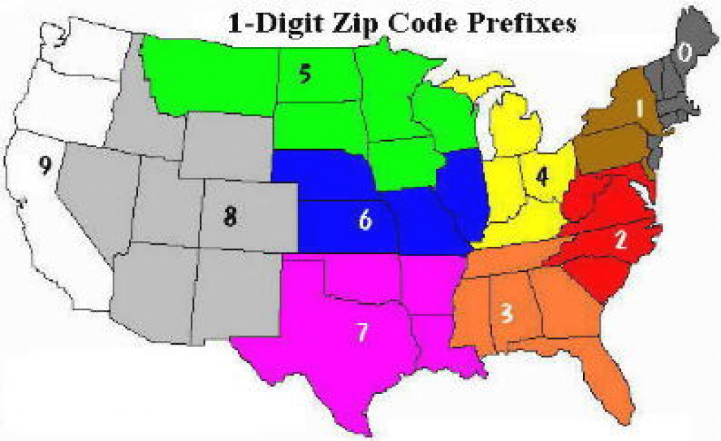 Obtaining Us Zip Codes In One Step pertaining to Usps Zip Code Map By State