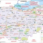 Ohio Map, Map Of Ohio Usa, Oh Map With Regard To Map Of Ohio And Surrounding States