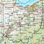 Ohio Maps   Perry Castañeda Map Collection   Ut Library Online With Regard To State Of Ohio County Map Pdf