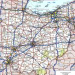 Ohio Road Map For Road Map Of Northern States