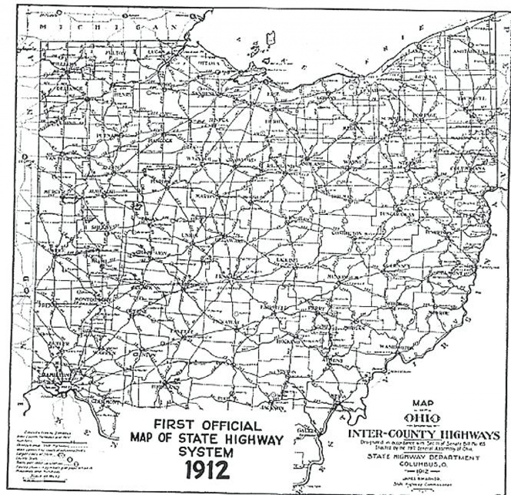 Ohio State Map Usa – Wineandmore intended for Ohio State Road Map