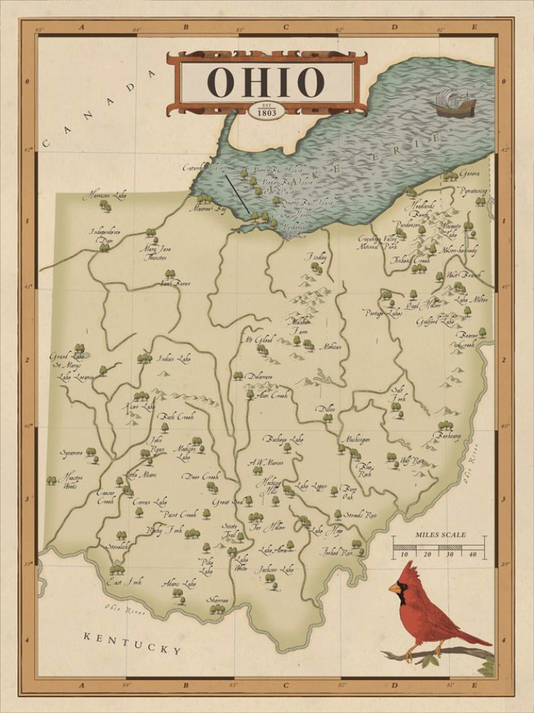 Ohio State Parks Map | Ohio State Parks | Pinterest | Ohio And Park throughout Ohio State Parks Map