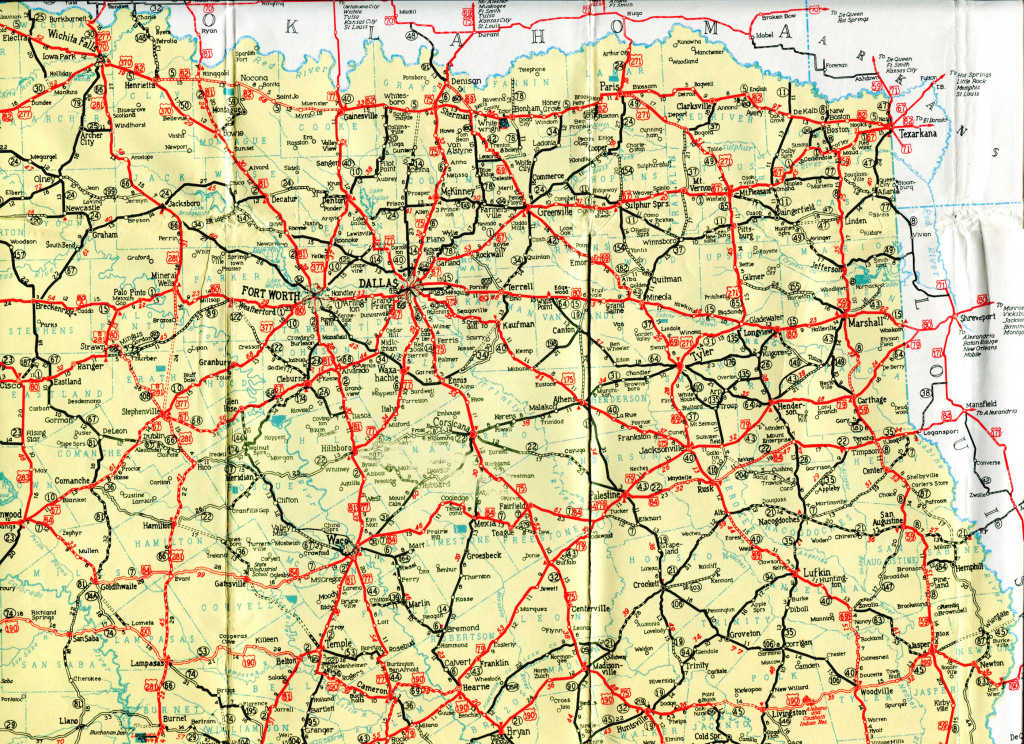 Old Highway Maps Of Texas for Texas State Highway Map