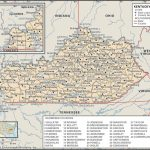 Old Historical State, County And City Maps Of Kentucky With Kentucky State Map With Cities And Counties