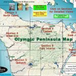 Olympic Peninsula Guide To Olympic National Park And Olympic In Washington State National Parks Map