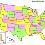 On Us Map Alaska State Is On New Map The States In The Us New Usa Throughout Is State Map