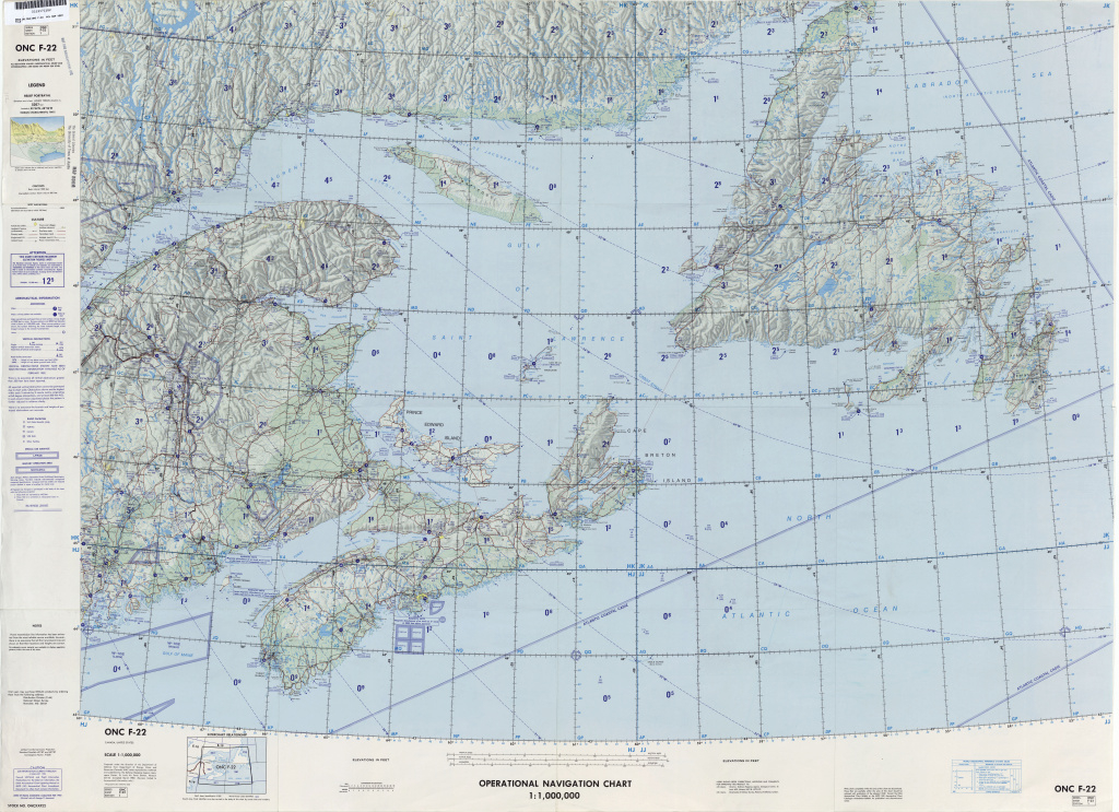 Operational Navigation Charts - Perry-Castañeda Map Collection - Ut inside United States Defense Mapping Agency