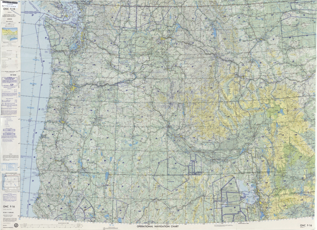 Operational Navigation Charts - Perry-Castañeda Map Collection - Ut throughout United States Defense Mapping Agency