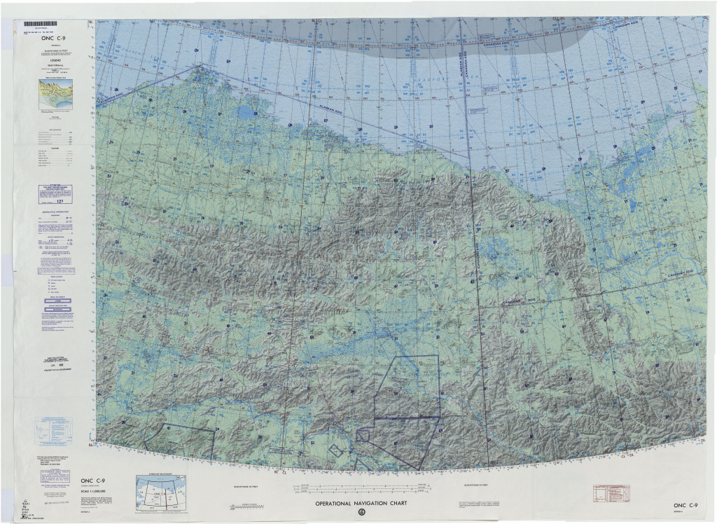 Operational Navigation Charts - Perry-Castañeda Map Collection - Ut with regard to United States Defense Mapping Agency