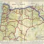 Oregon Secretary Of State: Route Map Throughout Oregon State Highway Map