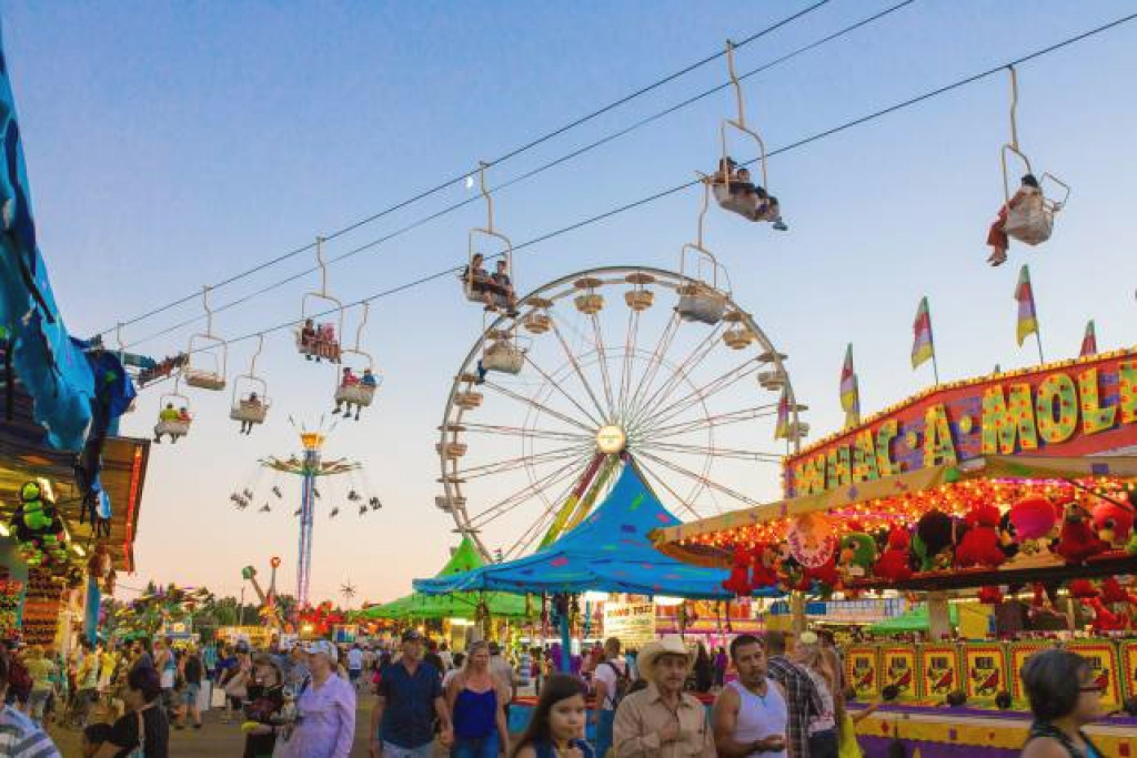 Oregon State Fair 2018 In Portland - Dates & Map with Oregon State Fairgrounds Map